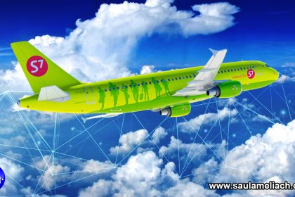 Saul Ameliach - Aerolínea rusa S7 implementa Blockchain en aeronaves