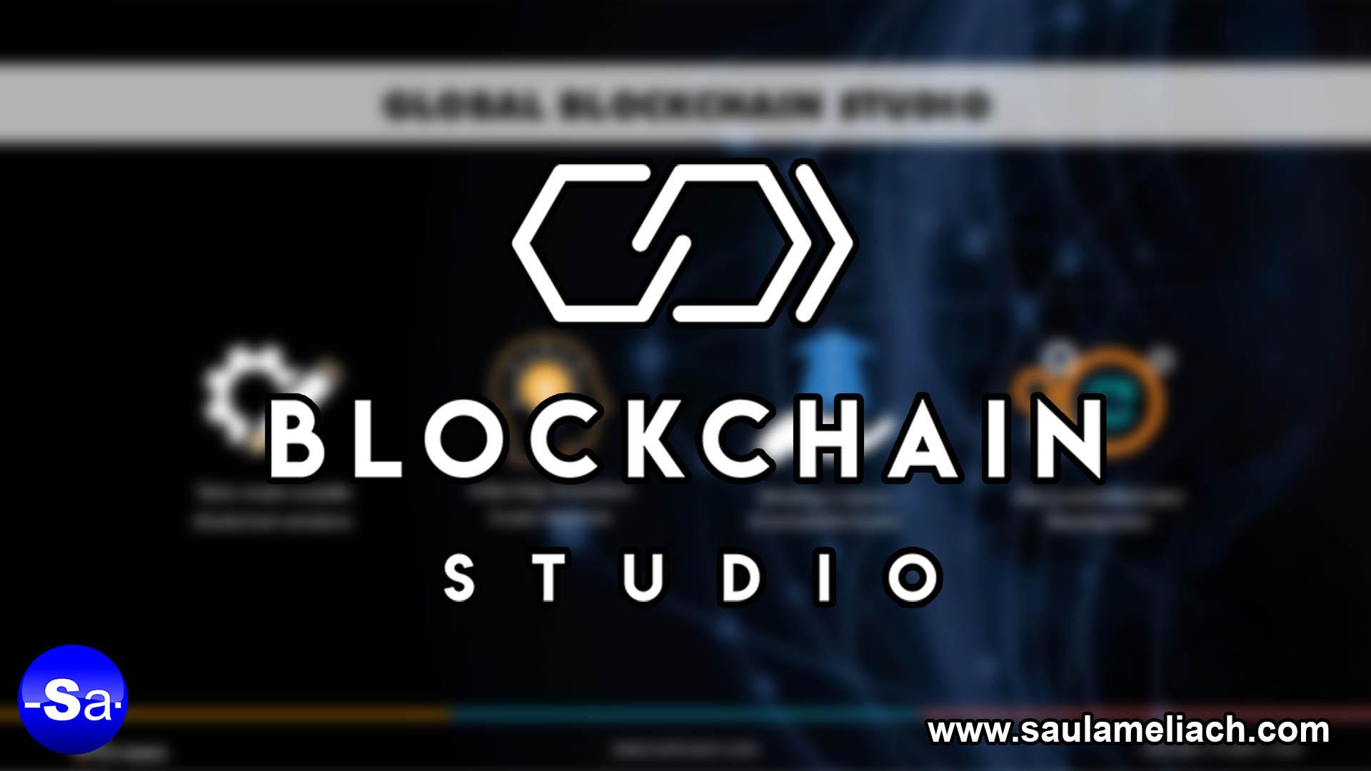 Saul Ameliach - Blockchain Studio Nuevo proyecto de ENGIE